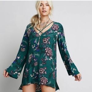 Free People | Heart Beat Floral Tunic Dress XS